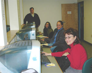 Photo: Michael J. Salvo and Students of Northeastern's Accessible Web Design Program